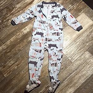 Carter's Zipup Pajamas